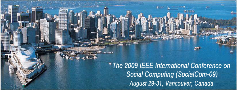 2009 Social Computing Conference