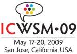 ICWSM 2009 in San Jose