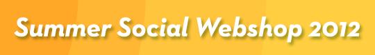 2012 Summer Social Webshop Logo