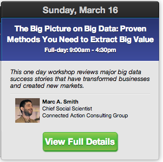 2014-PAWCON-Workshop-BigData Big Picture-Marc Smith
