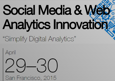 20150429-Innovation Enterprise-Social Media and Web Analytics Innovation