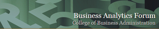 2015-University of Tennesee-Business Analytics Forum Banner